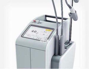 علاج الوحمة الدموية في تركيا عبر جهاز ال dye Laser Caption