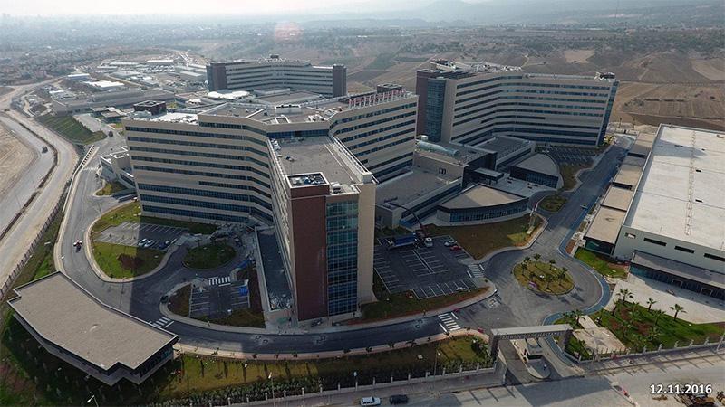 مستشفى مدينة مرسين للتعليم والبحوث